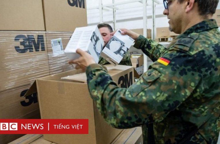 Đức chặn 7,5 triệu khẩu trang nhập khẩu từ Trung Quốc, gây hại sức khỏe cho người dùng