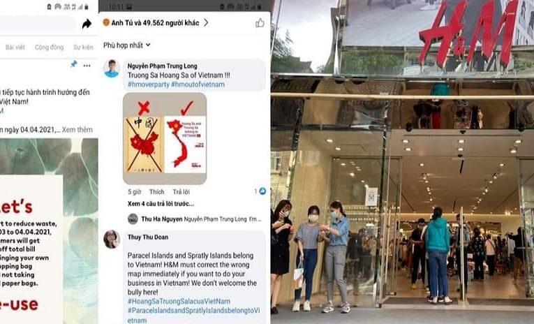 Xôn Xao mạng xã hội người Việt tẩy chay hãng H&M vì đăng ảnh hình lưỡi bò