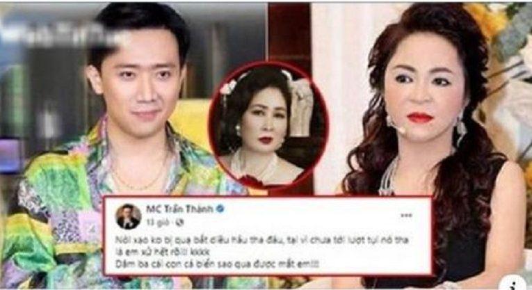 Học theo NSND Hồng Vân, Trấn Thành mượn clip hài 'mỉa mai' bà Phương Hằng `lươn lẹo`?